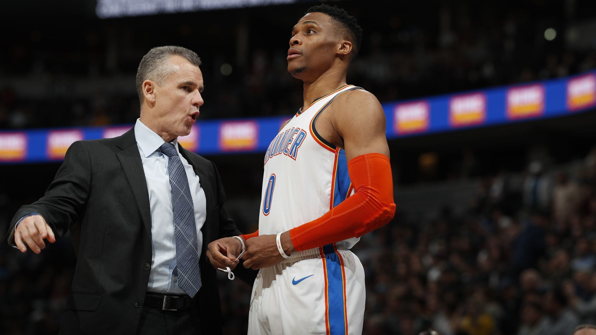 Would Thunder head coach Billy Donovan trade Westbrook for Westwood?