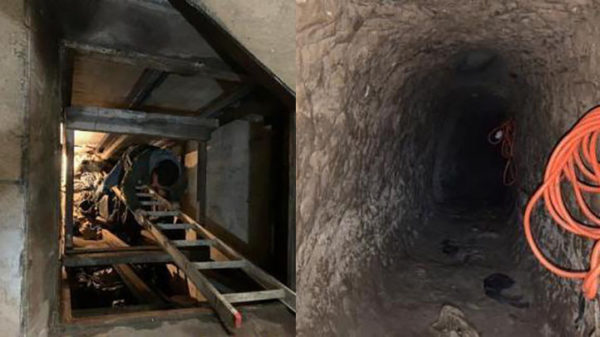 US Finds Major Cross-Border Tunnel Used to Smuggle Drugs – NBC Los Angeles