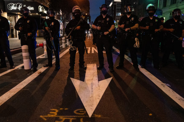 Driver Arrested on Suspicion of Attempted Murder During Downtown LA Protests – NBC Los Angeles