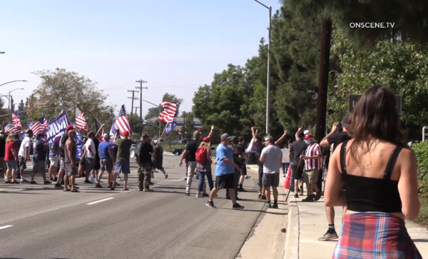 Woman Charged with Attempted Murder in Yorba Linda Protest – NBC Los Angeles