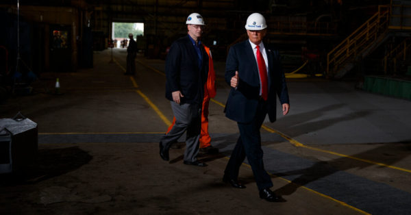 Trump's Manufacturing Promises Disappoint as Economy Sours