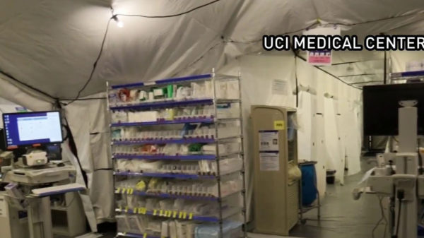 Orange County's UCI Opens Mobile Unit in Hospital's Parking Lot Due to COVID Crush of Patients – NBC Los Angeles