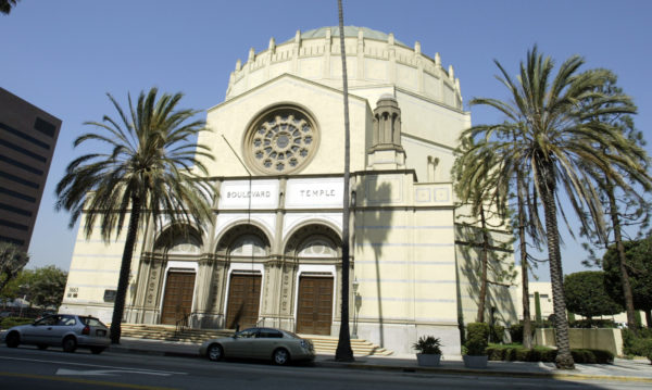 Graffiti on Historic Wilshire Boulevard Temple in Koreatown Investigated as a Hate Crime – NBC Los Angeles