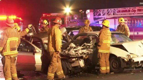 Two Killed in Downtown LA Wrong-Way Crash – NBC Los Angeles