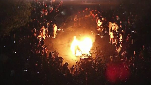 Couches Burned, Fireworks Ignited as UCLA Students Celebrate Bruins Reaching Final Four – NBC Los Angeles