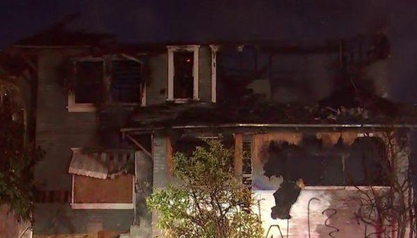 Fire Burns House Near Downtown LA – NBC Los Angeles