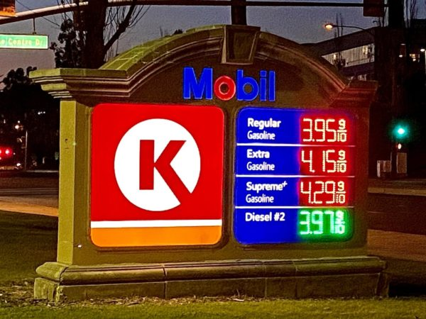 California gasoline price rose by the smallest amount in 12 weeks – Daily News