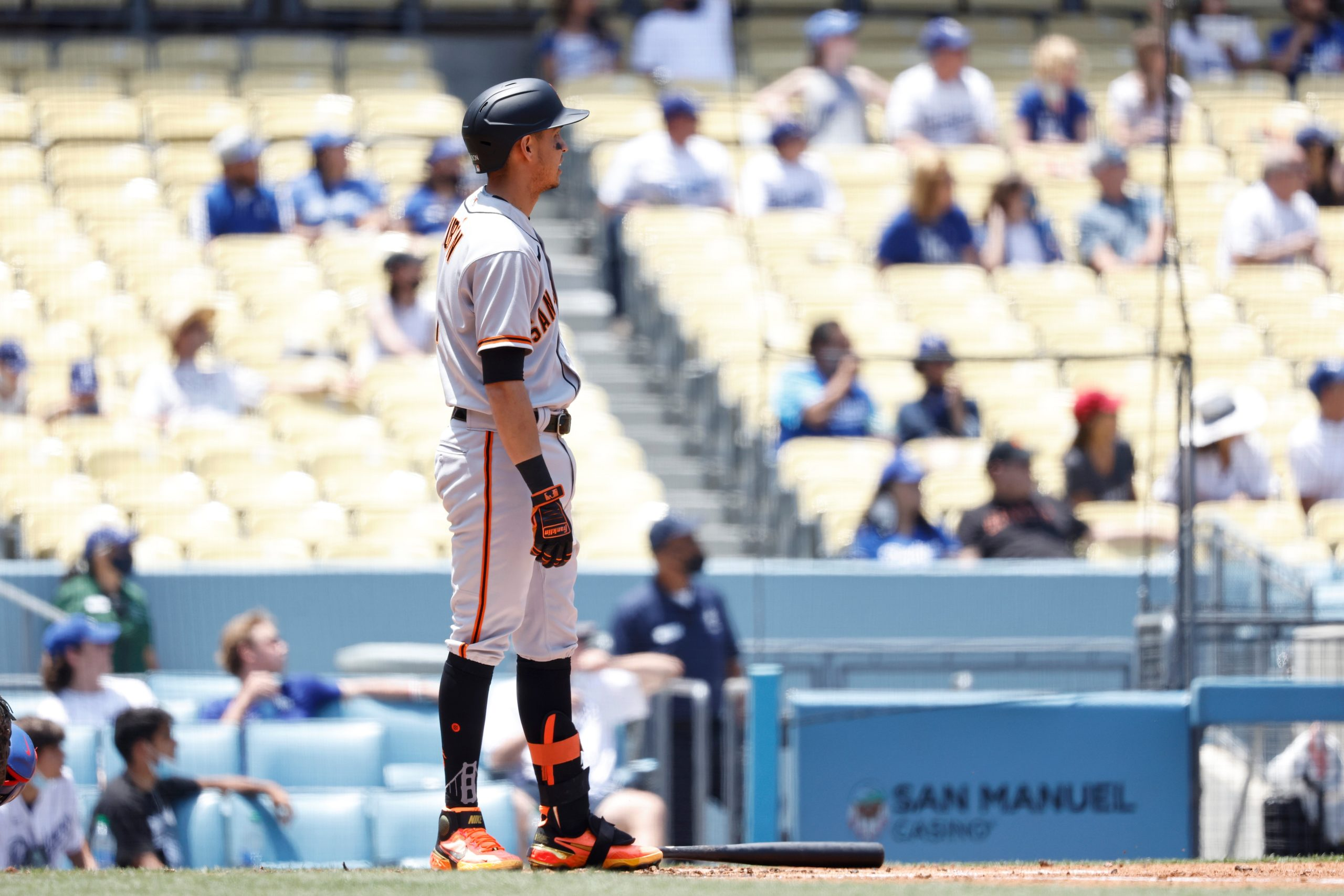 Dodgers Late Comeback Falls Short as Giants Hold On, Take Series, 5-4 – NBC Los Angeles