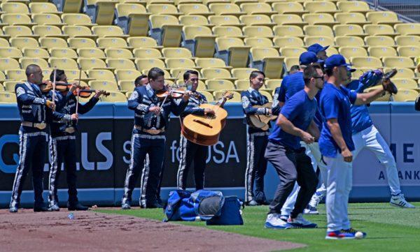 Joe Kelly Trades Dodgers Jersey for Mariachi Jacket – NBC Los Angeles