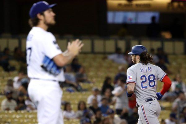 Rangers Snap 16-game Road Losing Streak, Rout Dodgers 12-1 – NBC Los Angeles