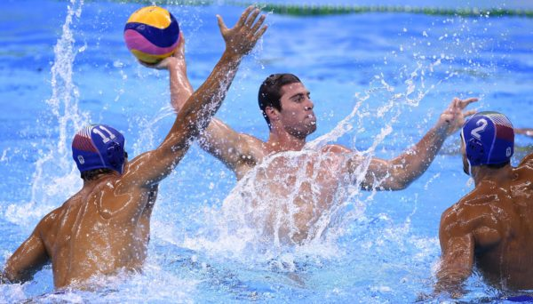 U.S. Men Take On Hungary in Water Polo – NBC Los Angeles