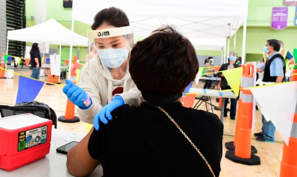 LAUSD Brings COVID-19 Vaccines To School Campuses Across District – NBC Los Angeles
