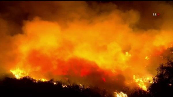 Chaparral Fire Near Cleveland National Forest is 50% Contained – NBC Los Angeles