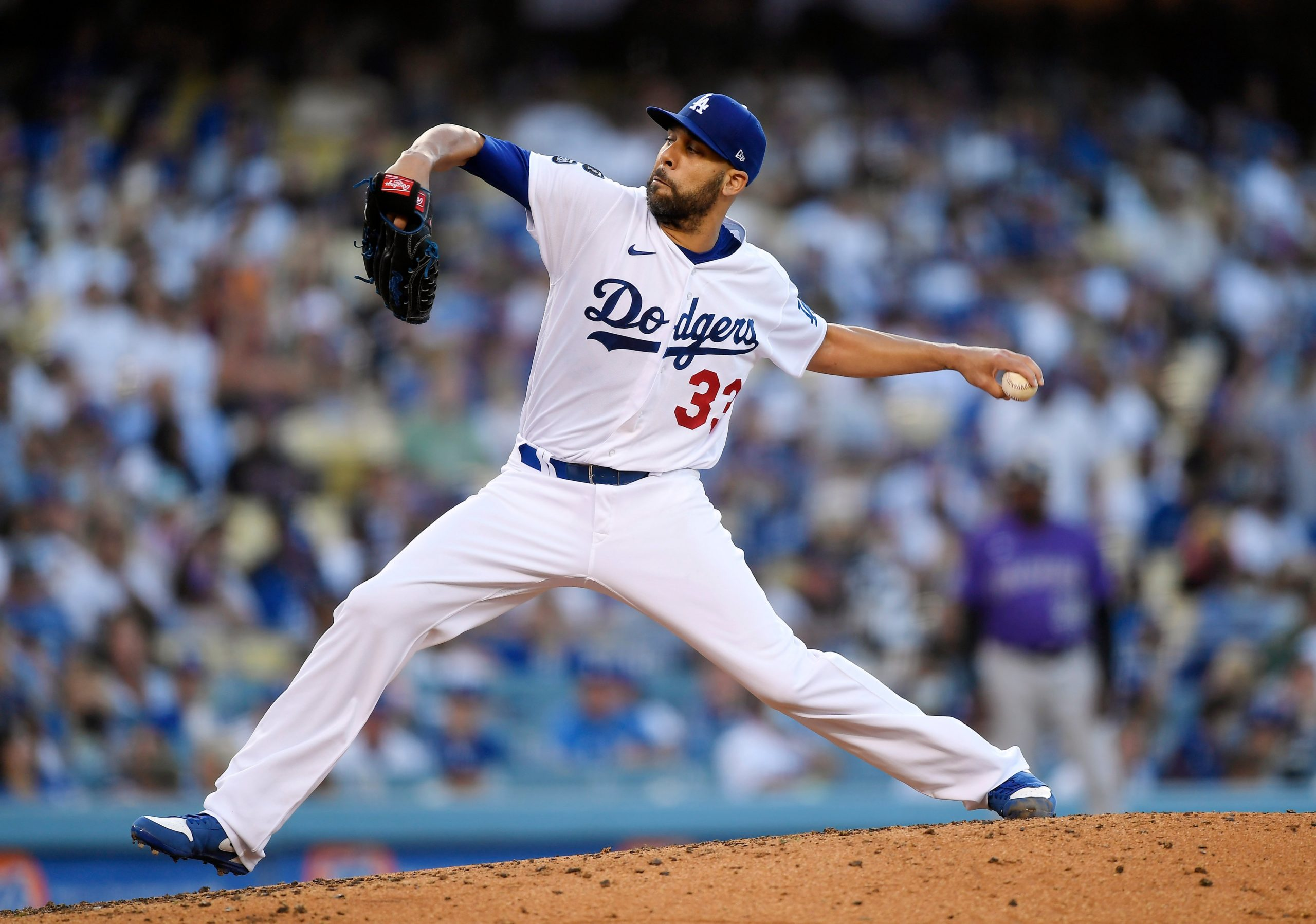 Dodgers Scratch Lefty David Price From Start With Arm Issue – NBC Los Angeles