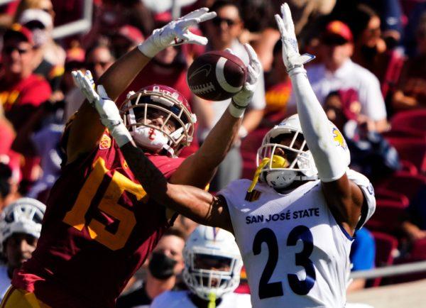 Drake London, USC Defense Carry No. 15 Trojans Past San Jose State, 30-7 – NBC Los Angeles