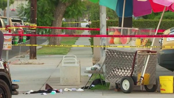 Police Search for Suspects in Long Beach Fruit Stand Shooting – NBC Los Angeles