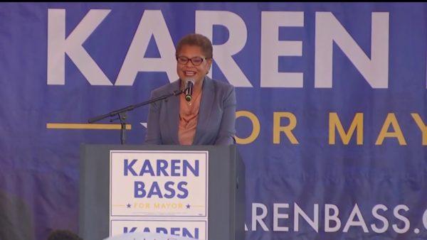 Karen Bass Reiterates Pledge to Prioritize Solving Homelessness – NBC Los Angeles
