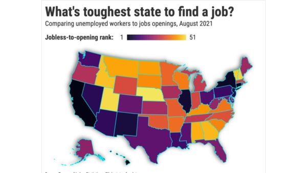California is 2nd toughest place in U.S. to find a job – Daily News