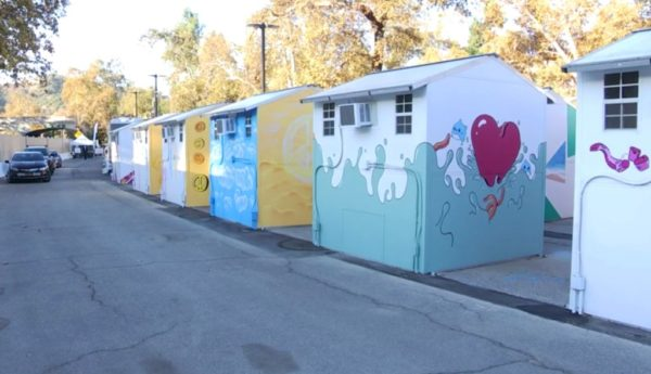 Highland Park Tiny Home Village Opens for Homeless – NBC Los Angeles